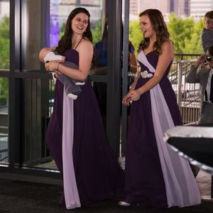 Plum & Lilac Bridesmaid/ Prom dress by W too.